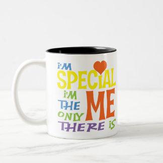 I'm Special Kids Shirts Two-Tone Coffee Mug