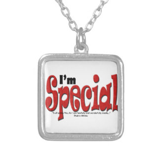 I'm Special Silver Plated Necklace