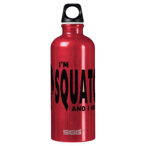 I'm Squatchy SIGG Traveler 0.6L Water Bottle