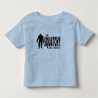 I'm Squatchy Toddler T-shirt