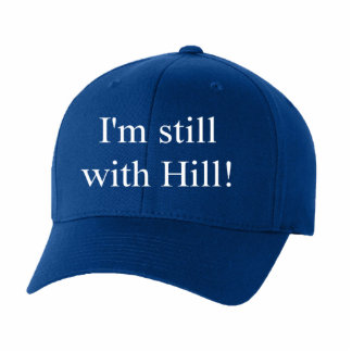 I'm still with Hill Blue Cap Collectible Cutout