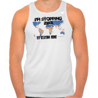 I'm Stopping Zika Tank Top by RoseWrites