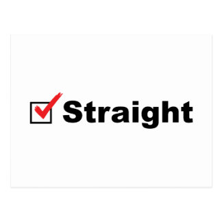 I'm Straight And Available Postcard