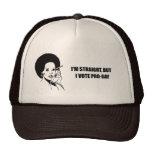 I'm straight but I vote pro-gay Mesh Hat