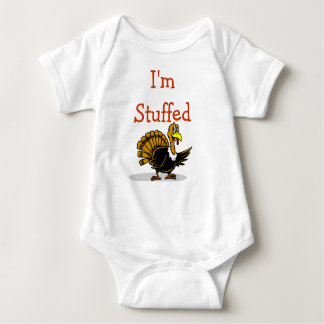 I'm stuffed onsie for your baby on Thanksgiving Baby Bodysuit