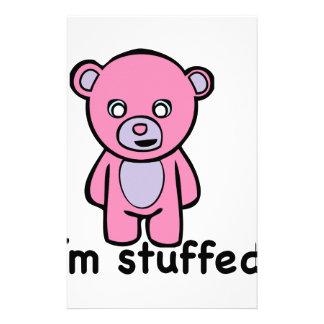 Im Stuffed Stationery