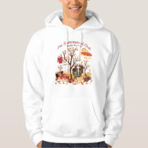 I'm Summered Out Ready For Fall - Autumn Scenery Hoodie