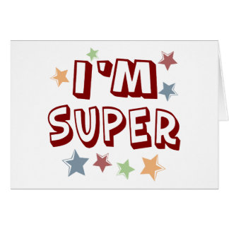 Im Super with Stars Card