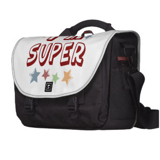 Im Super with Stars Laptop Computer Bag