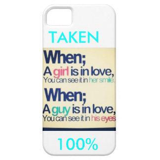 im taken iPhone SE/5/5s case