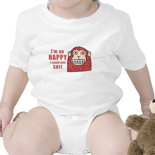 Im tan feliz acabo de poder traje de bebé