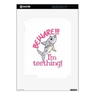 I'm Teething! Decal For iPad 2