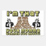 I'm That Conservative Rectangular Sticker