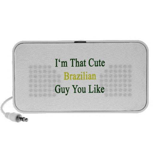 I'm That Cute Brazilian Guy You Like Mini Speaker