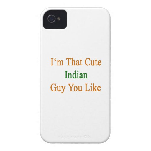 I'm That Cute Indian Guy You Like iPhone 4 Cases