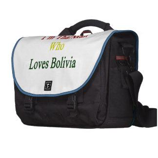 I'm That Man Who Loves Bolivia Laptop Messenger Bag