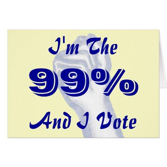 I'm The 99% Card