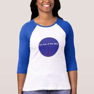 I'm The 99% Pie Chart Shirt