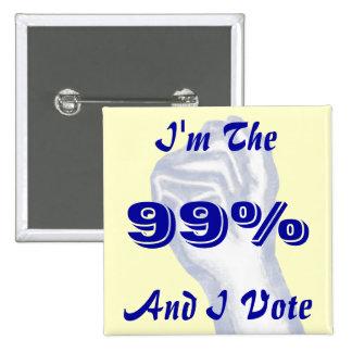 I'm The 99% Pins