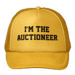 I'M THE AUCTIONEER Hat Mesh Hats