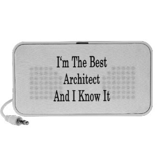 I'm The Best Architect And I Know It iPod Speakers