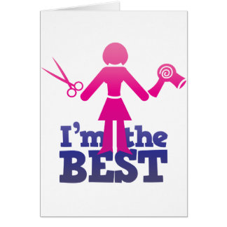 I'm the best ! card