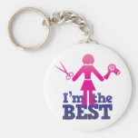 I'm the best ! keychain