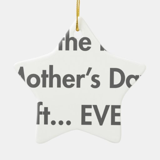Im-the-best-mothers-day-gift-fut-gray.png Christmas Tree Ornaments