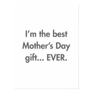 Im-the-best-mothers-day-gift-fut-gray.png Postcard