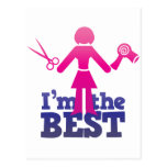I'm the best ! postcards