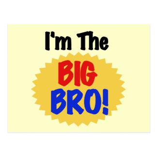 I'm the Big Bro Text Tshirts and Gifts Postcard