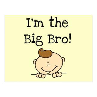 I'm the Big Bro Tshirts and Gifts Postcard