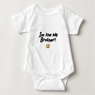 Im the big brother baby bodysuit