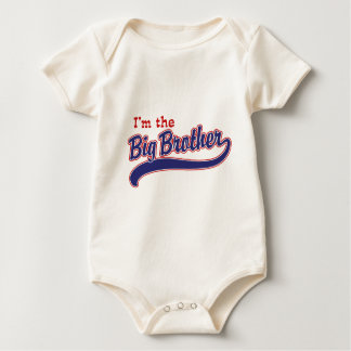 I'm the big brother baby bodysuit