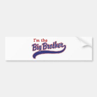 I'm the big brother car bumper sticker