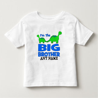 I'm the BIG Brother! Custom Dinosaur Design Shirt