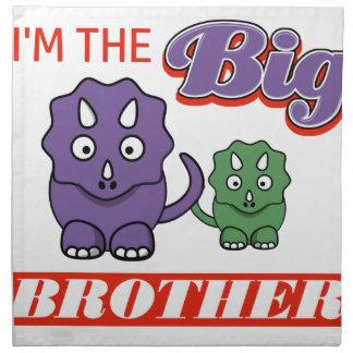 I'm the Big Brother designs Cloth Napkin
