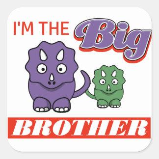 I'm the Big Brother designs Square Sticker