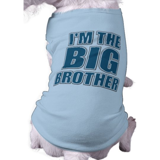 Inktastic Big Bro Puppy Dog Brother Toddler Long Sleeve T-Shirt Gift New Boys See more like this My Big Brother Big Sister is a DOG funny baby shirt infant clothes new one piece New (Other).