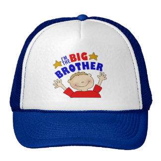 I'm The Big Brother Gift Trucker Hat