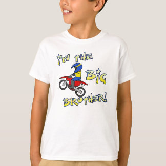 I'm the Big Brother Motocross Tee Shirt
