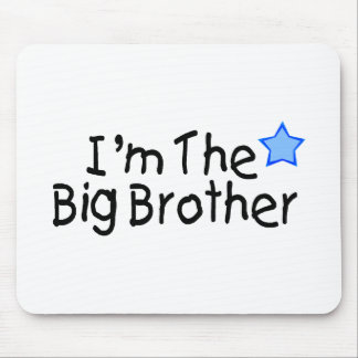 I'm The Big Brother Mousepads