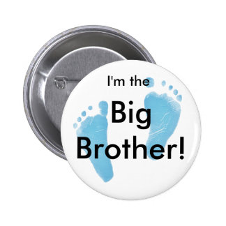 I'm the big brother pinback button