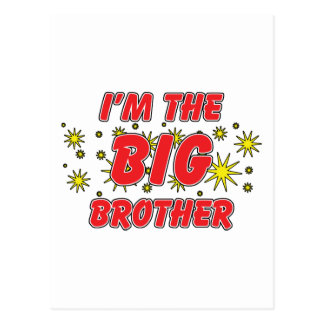 I'm The Big Brother Postcard