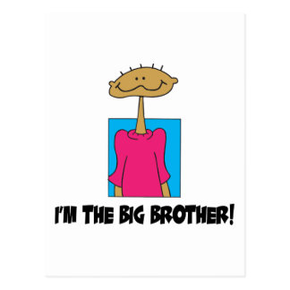 I'm The Big Brother Postcard