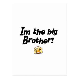 Im the big brother postcard