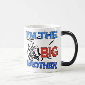 I'm The Big Brother Soccer Magic Mug
