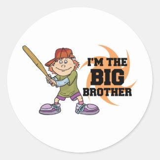 I'm The Big Brother Classic Round Sticker