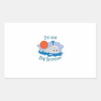 IM THE BIG BROTHER RECTANGULAR STICKER