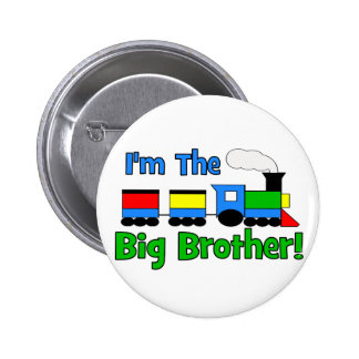 I'm The Big Brother TRAIN Pinback Button